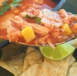 Rainy Day {Chicken Tortilla Soup}