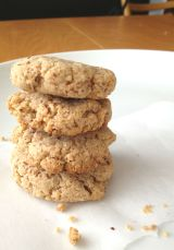 Be Stitched Baking {Vegan Gluten-free Vanilla Coconut Cookies}