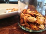 Be Stitched Baking {Roasted Pumpkin Seeds}