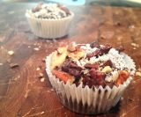 Be Stitched Baking {Gluten free German Chocolate Bites}