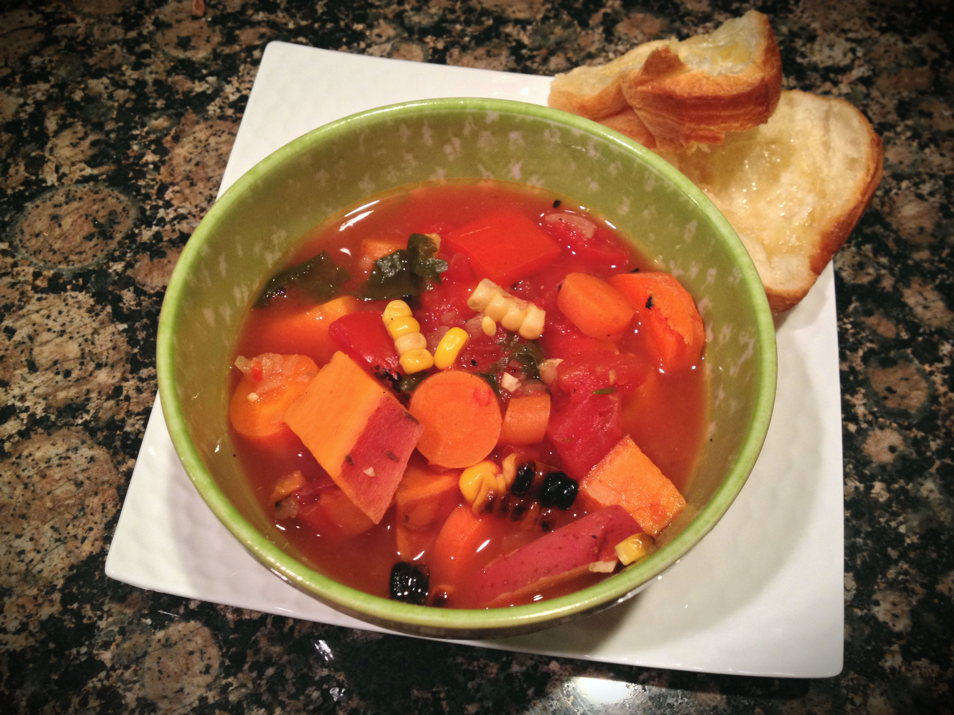 Busy Week Ahead {Vegetable Tomato Soup} (Learn. Act. Live. Love.)