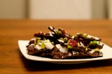 Give {Dark Chocolate Cranberry and Pistachio Bark}
