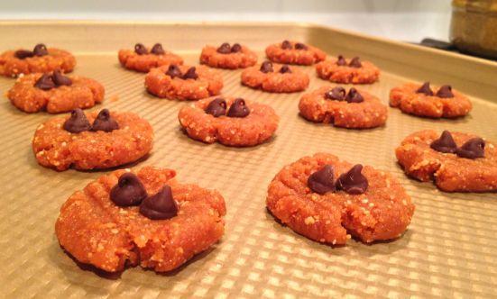 Gluten free peanut butter cookie dough