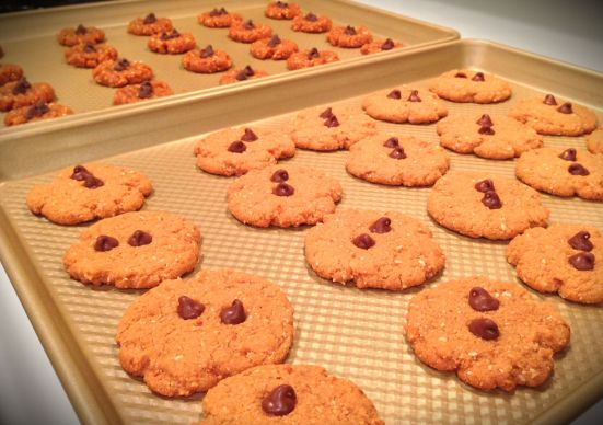 Gluten free peanut butter cookies 1