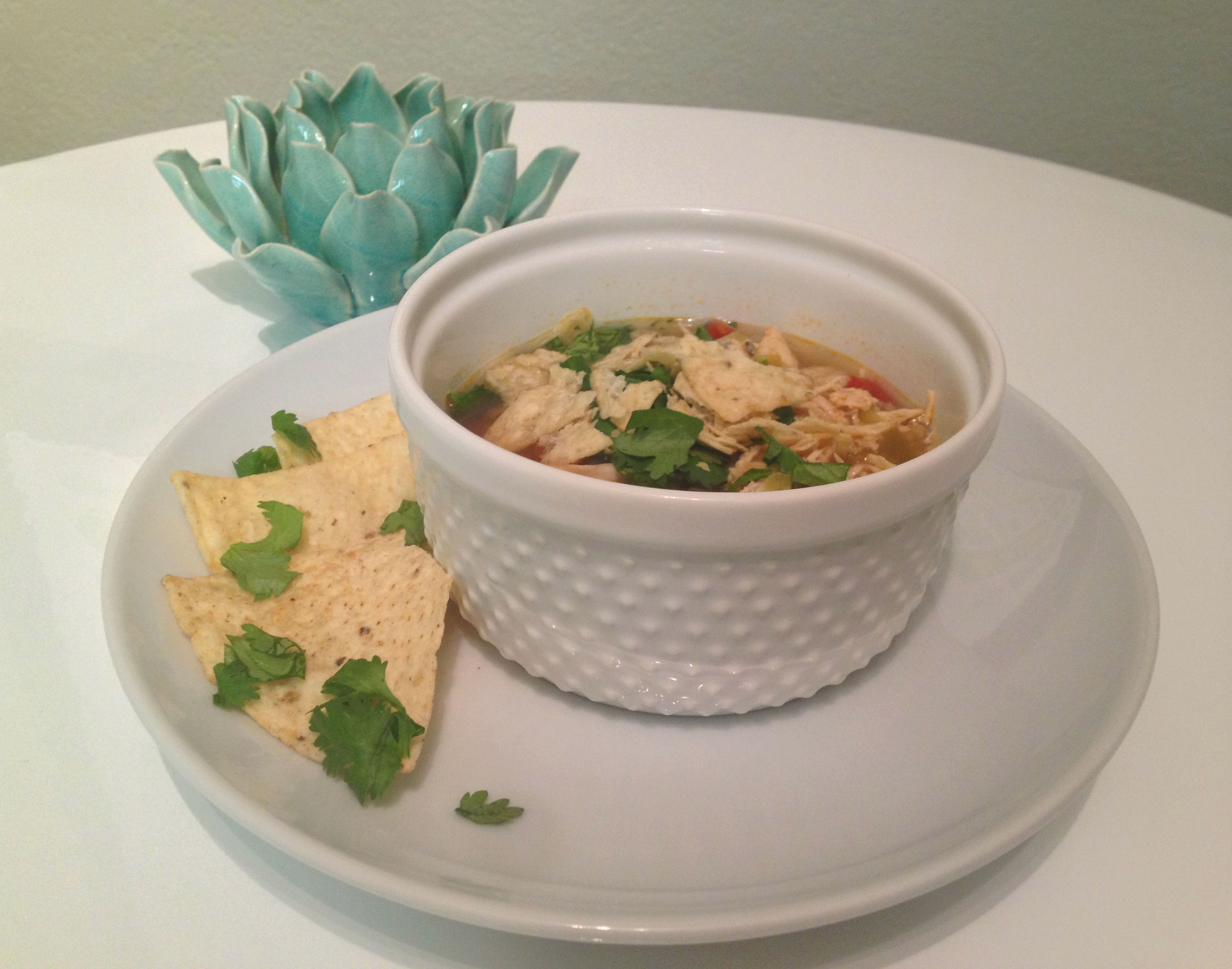 green chili chicken soup 2
