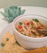 More Soup {Green Chili Lime Chicken Soup}