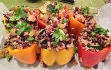 {Vegan Stuffed Bell Peppers}
