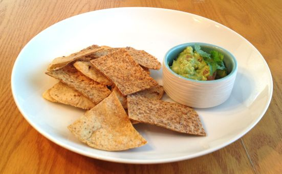 Baked Chips and Guac 3