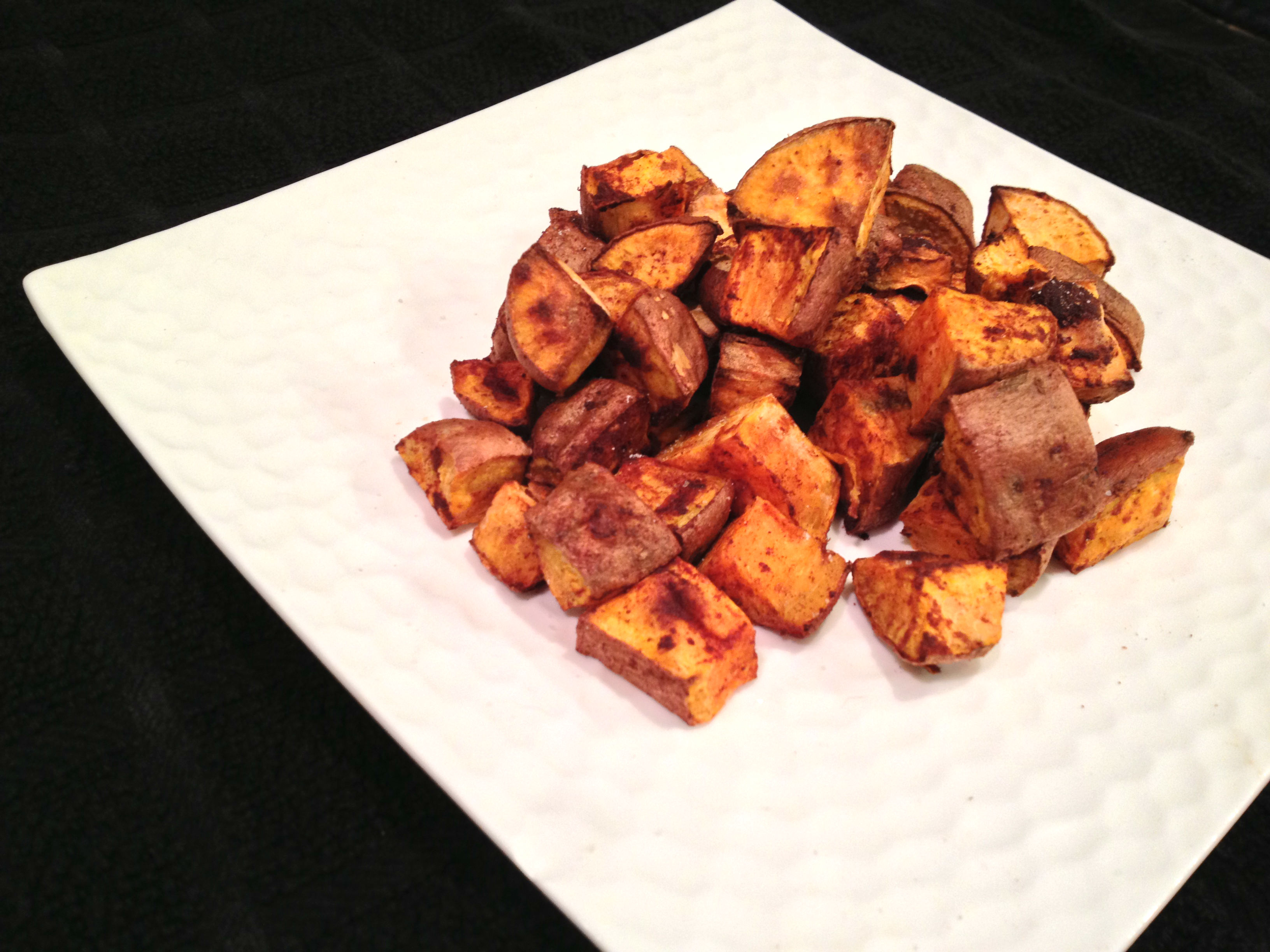 Cinnamon Roasted Sweet Potatoes (Learn. Act. Live. Love)