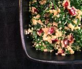 No Fail {Kale Quinoa with Cranberries, Lemon, and Cayenne}