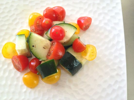 Cucumber Tomato Lime