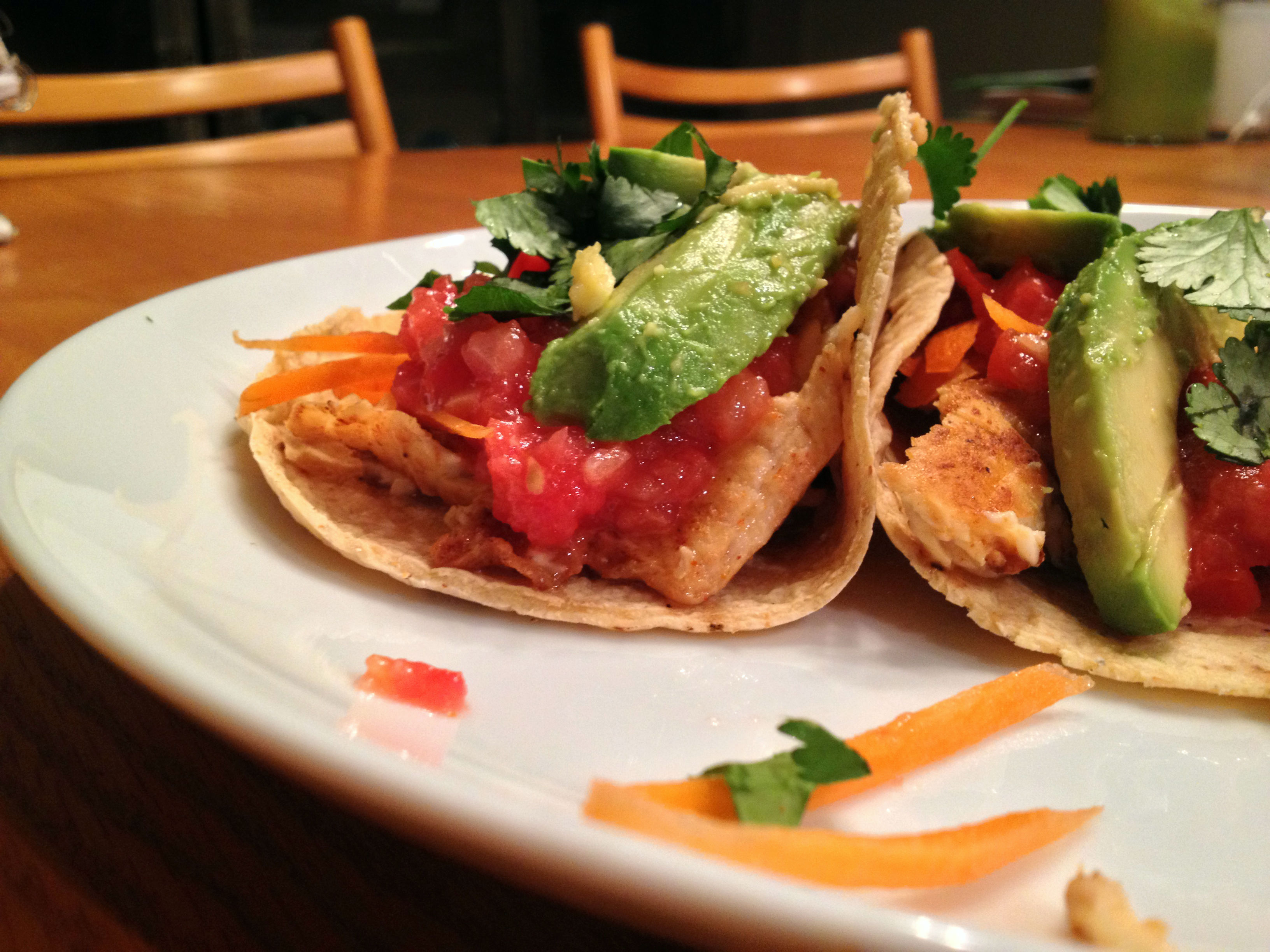White and flaky gluten free fish tacos for White fish tacos