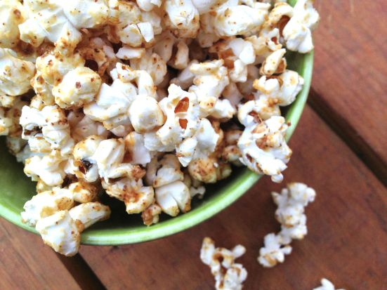 Maple Almond Popcorn 1
