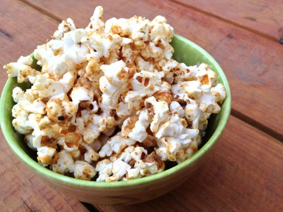 Maple Almond Popcorn 5