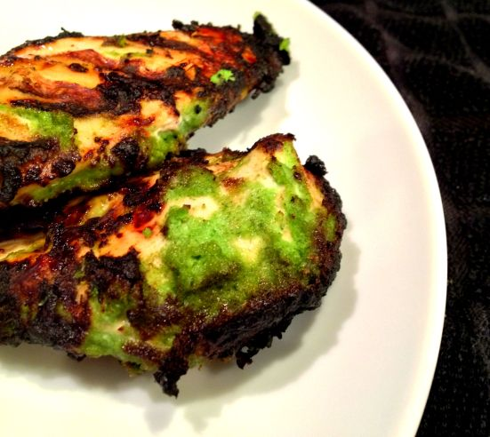 Onion Herb Grilled Chicken
