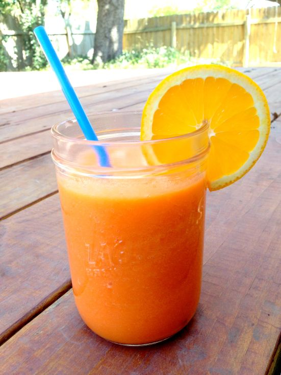 Orange Carrot Juice 1