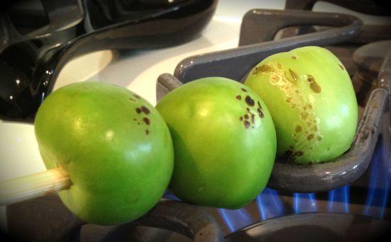 raost tomatillos