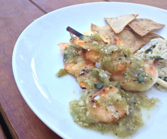 Tomatillo Shrimp 1
